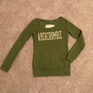 Abercrombie boat neck sweatshirt XS